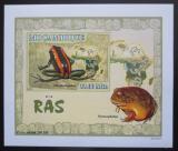 Poštovní známka Mosambik 2007 Žáby DELUXE neperf. Mi# 2961 B Block