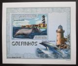 Poštovní známka Mosambik 2007 Delfíni DELUXE neperf. Mi# 3047 B Block