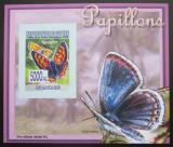 Poštovní známka Guinea 2008 Motýli DELUXE neperf. Mi# 5470 B Block