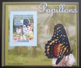 Poštovní známka Guinea 2008 Motýli DELUXE neperf. Mi# 5472 B Block