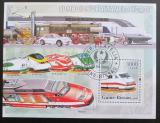 Poštovní známka Guinea-Bissau 2006 Rychlovlaky Mi# 3385 Kat 12€