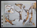 Poštovní známka Angola 2007 LOH Peking, plavání Mi# Block 122 Kat 10€