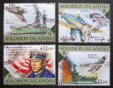 Poštovní známky Šalamounovy ostrovy 2016 Útok na Pearl Harbor Mi# 3686-89 Kat 14€