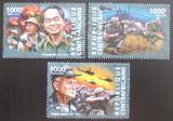 Poštovní známky SAR 2015 Vietnamská válka, 40. výročí Mi# 5284-86 Kat 14€