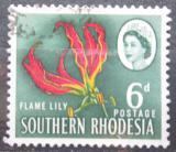 Poštovní známka Jižní Rhodésie, Zimbabwe 1964 Glorióza vznešená Mi# 99