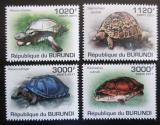 Poštovní známky Burundi 2011 Želvy Mi# 2086-89 Kat 9.50€