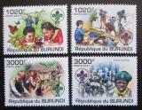 Poštovní známky Burundi 2011 Skauti Mi# 2202-05 Kat 9.50€