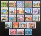 Poštovní známky Zimbabwe 1985 Kultura, technika a hospodářství TOP SET Mi# 309-30