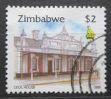 Poštovní známka Zimbabwe 1995 Dům v Harare Mi# 551