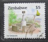 Poštovní známka Zimbabwe 1995 Měřící bod na hoře Kopje Mi# 552