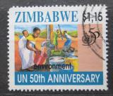 Poštovní známka Zimbabwe 1995 OSN, 50. výročí Mi# 565