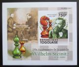 Poštovní známka Togo 2011 Wilhelm Steinitz neperf. Mi# 4012 B Block