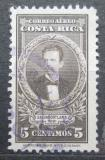 Poštovní známka Kostarika 1948 Prezident Salvador Lara Zamora Mi# 311