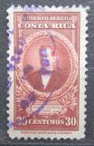 Poštovní známka Kostarika 1946 Prezident Vicente Herrera Zeledón Mi# 316