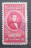 Poštovní známka Kostarika 1945 Prezident Manuel Aguilar Chacón Mi# 318