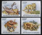 Poštovní známky Burundi 2012 Dinosauři Mi# 2555-58 Kat 10€