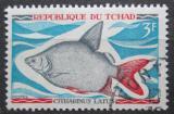 Poštovní známka Čad 1969 Citharinus latus Mi# 283