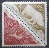 Poštovní známky Čad 1962 Skalní malby, úřední Mi# 23-24