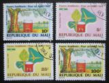 Poštovní známky Mali 1989 Ochrana životního prostředí Mi# 1113-16