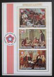 Poštovní známky Burundi 1976 Americká revoluce neperf. Mi# Block 94 B Kat 10€