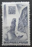Poštovní známka St. Pierre a Miquleon 1947 Záliv Mi# 348