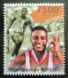 Poštovní známka Burundi 2012 Carl Lewis Mi# 2312
