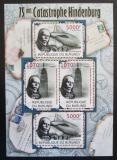 Poštovní známky Burundi 2012 Zkáza Hindenburgu, 75. výročí Mi# 2393-94 Kat 10€