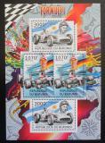 Poštovní známky Burundi 2012 Formule 1 DELUXE Mi# 2467,2469 Kat 10€