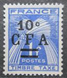 Poštovní známka Reunion 1949 Doplatní přetisk Mi# 36
