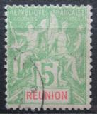 Poštovní známka Reunion 1900 Koloniální alegorie Mi# 46