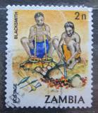 Poštovní známka Zambie 1981 Kováři Mi# 250