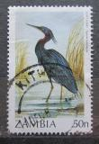 Poštovní známka Zambie 1987 Volavka rudohrdlá Mi# 392