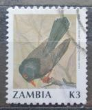 Poštovní známka Zambie 1991 Tuhýk tríbarvý Mi# 547