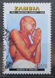 Poštovní známka Zambie 1998 Mahatma Gándhí Mi# 764