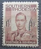 Poštovní známka Jižní Rhodésie, Zimbabwe 1937 Král Jiří VI. Mi# 44