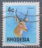 Poštovní známka Rhodésie, Zimbabwe 1974 Bahnivec jižní Mi# 143
