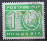 Poštovní známka Rhodésie, Zimbabwe 1970 Doplatní Mi# 11