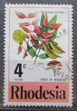 Poštovní známka Rhodésie, Zimbabwe 1976 Brachystegia speciformis Mi# 184