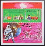 Poštovní známka Libye 1979 Vyhnání britských a amerických vojsk Mi# Block 41