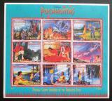 Poštovní známky Guyana 1995 Disney, Pocahontas Mi# 5272-80