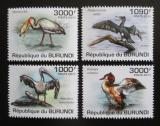 Poštovní známky Burundi 2011 Ptáci Mi# 2006-09 Kat 9.50€