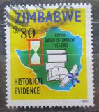 Poštovní známka Zimbabwe 2003 Historická společnost, 50. výročí Mi# 749
