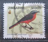 Poštovní známka Zimbabwe 2005 Drozdík bělobrvý Mi# 806 Kat 10€
