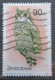 Poštovní známka Zimbabwe 1993 Výr africký Mi# 502 Kat 4.50€