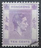 Poštovní známka Hongkong 1938 Král Jiří VI. Mi# 144 I x A