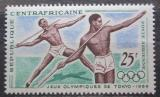 Poštovní známka SAR 1964 LOH Tokio, hod oštěpem Mi# 59
