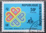 Poštovní známka SAR 1983 Mezinárodní rok komunikace Mi# 954