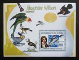 Poštovní známka Guinea 2007 Alexander Wilson a ptáci Mi# Block 1277