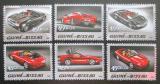 Poštovní známky Guinea-Bissau 2005 Ferrari Mi# 3086-91 Kat 11€