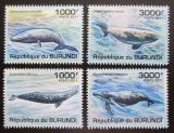 Poštovní známky Burundi 2011 Velryby Mi# 2042-45 Kat 9.50€
